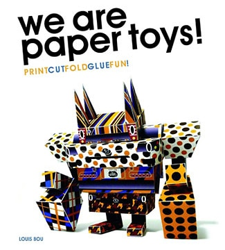 Capa do livro 'We Are Paper Toys!'