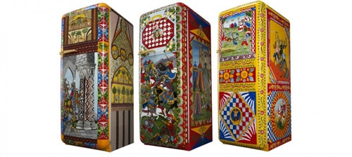 Dolce and Gabbana collaborates with Smeg for an uber stylish refrigerator