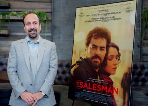 HOLLYWOOD, CA - JANUARY 07: Director Asghar Farhadi poses for a picture before the American Cinematheque Panel Discussion With Golden Globe Nominated Foreign-Language Directors at the Egyptian Theatre on January 7, 2017 in Hollywood, California. (Photo by Greg Doherty/Getty Images)